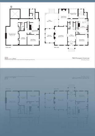 Viewthefloorplan chicago floorplans photo floorplans for Floor plans for real estate marketing